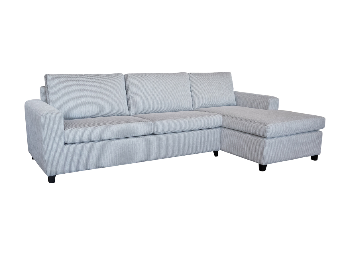 Vino 3.5 Seater Chaise Sofa Bed