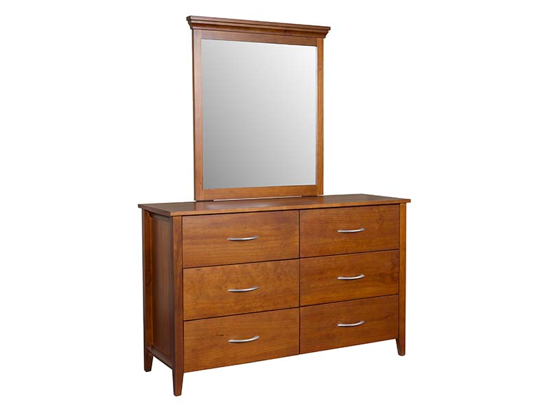 Hilton 6 Drawer with Mirror